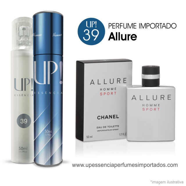 Allure Perfume Importado Masculino Up Essencia 39