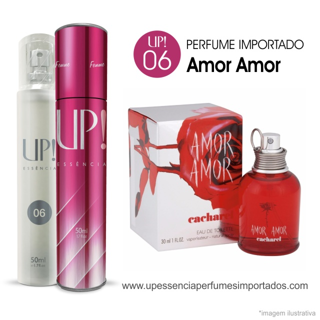 Amor Amor Cacharel Perfume Importado Feminino Up Essencia 06