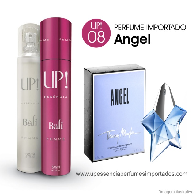 db7851a152506 Angel Perfume Importado Feminino Up Essencia 08 Bali. Angel Perfume  Importado Feminino Up Essencia 08 Bali
