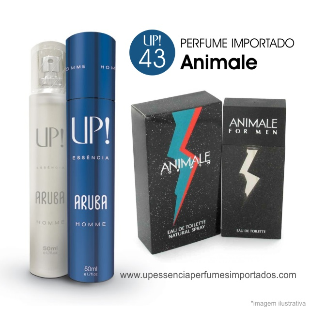 Animale Perfume Importado Masculino Up Essencia 43 Aruba