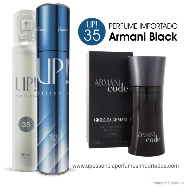 Armani Black Code Perfume Importado Masculino Up Essencia 35 London