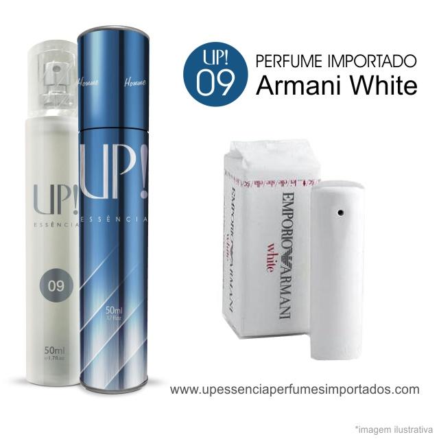 Armani White Perfume Importado Masculino Up Essencia 09