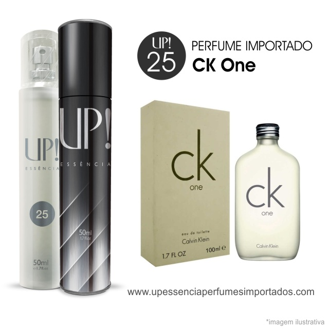 CK One Perfume Importado Unissex Up Essencia 25