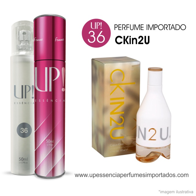 CKin 2u Perfume Importado Feminino Up Essencia 36
