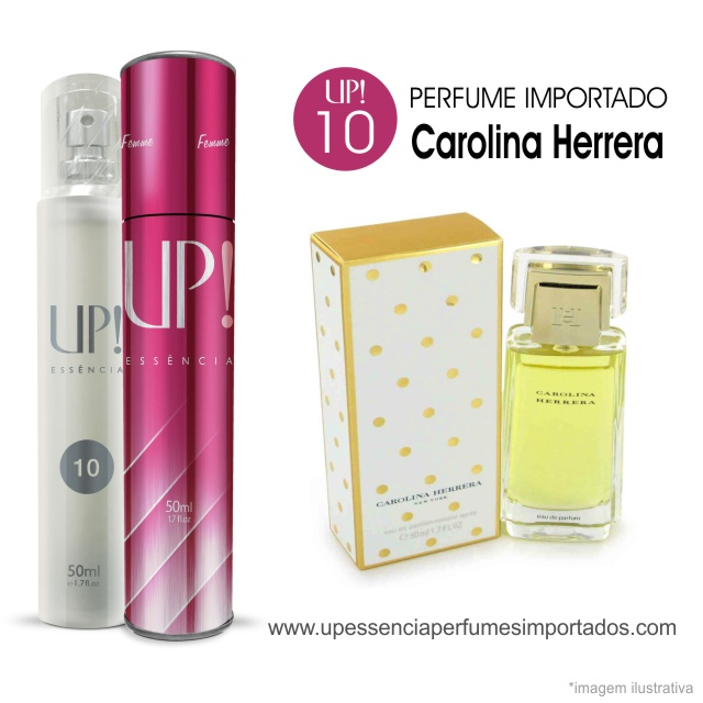 Carolina Herrera Perfume Importado Feminino Up Essencia 10