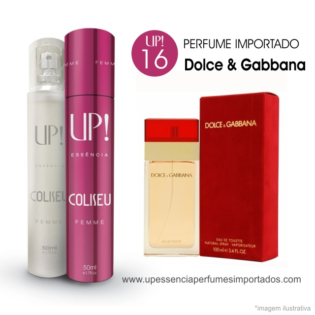 Dolce Gabbana Perfume Importado Feminino Up Essencia 16 Coliseu