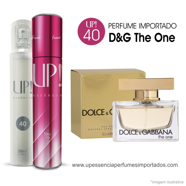 Dolce Gabbana The One Perfume Importado Feminino Up Essencia 40