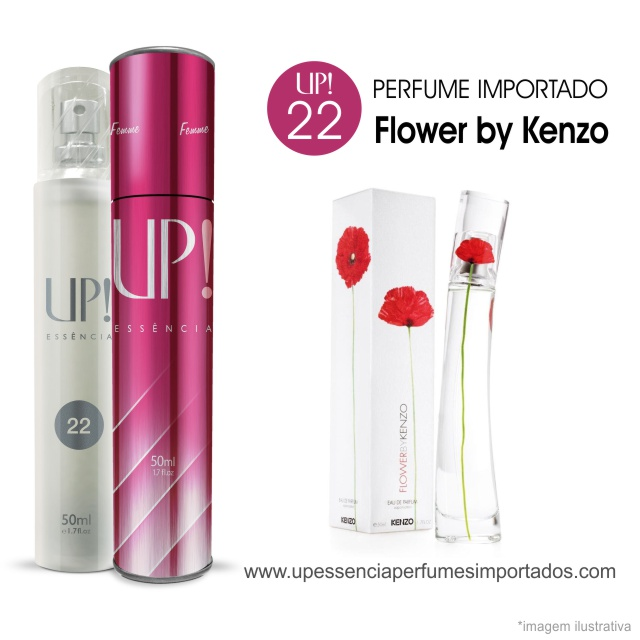 Flower by Kenzo Perfume Importado Feminino Up Essencia 22
