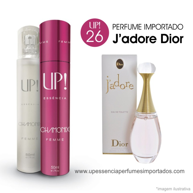 Jadore Dior Perfume Importado Feminino Up Essencia 26 Charmonix