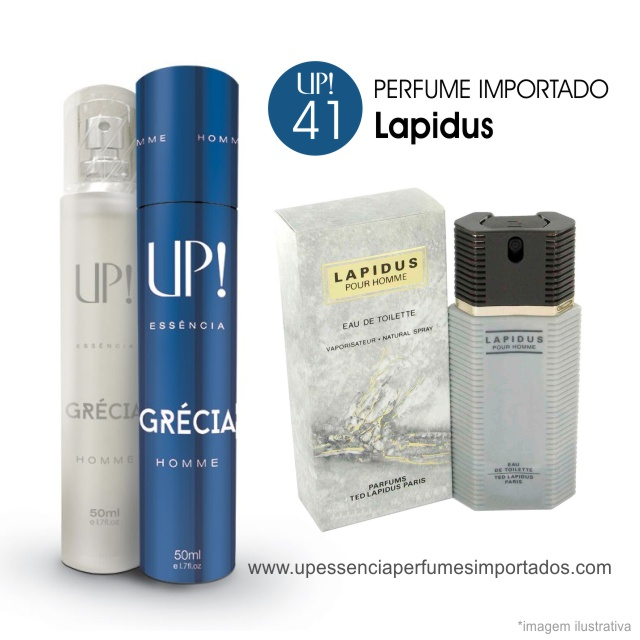 Lapidus Perfume Importado Masculino Up Essencia 41 Grecia