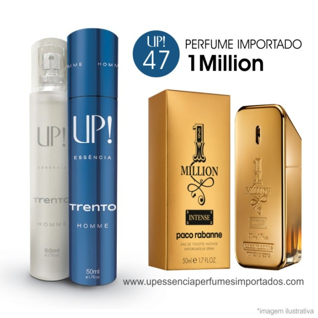 One Million Perfume Importado Masculino Up Essencia 47 Trento