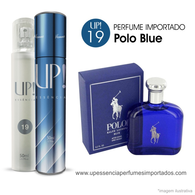 Polo Blube Perfume Importado Masculino Up Essencia 19
