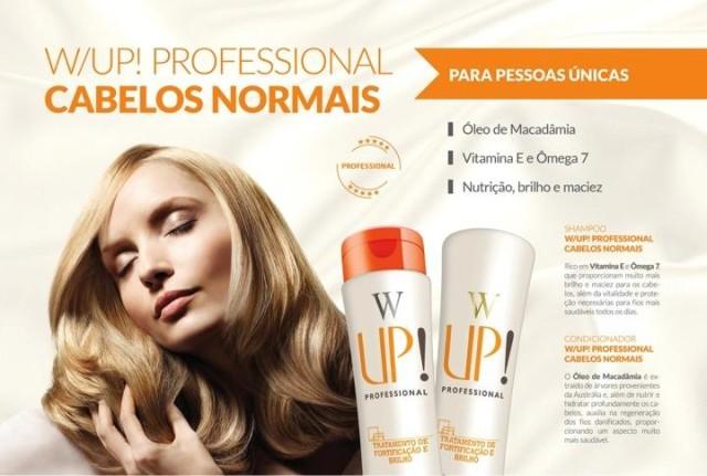 Shampo e Condicionador Up Essencia Cabelos Normais - WUp Hair