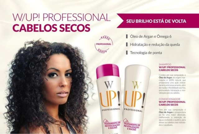 Shampo e Condicionador Up Essencia Cabelos Secos - WUp Hair