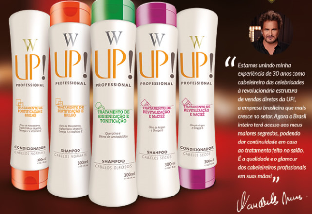 Shampoo e Condicionador Up Essencia - WUp Hair Wanderley Nunes
